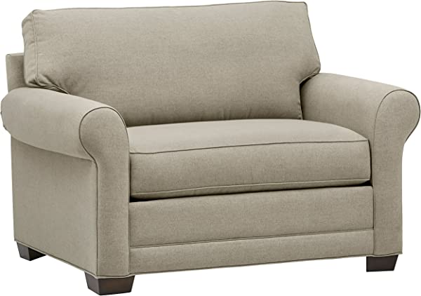 Stone Beam Kristin Chair And A Half Upholstered Sleeper Sofa 55 5 W Sand
