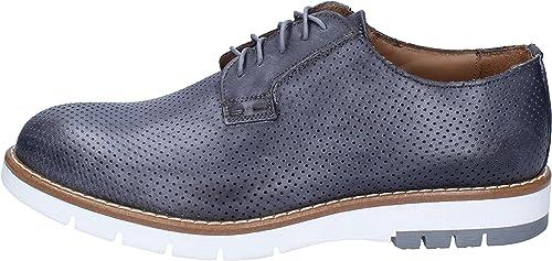 Di Mella Chaussures élégantes Homme Cuir gris