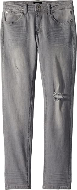Hudson Kids - Jude Slim Straight Jeans in Ice Grey (Toddler/Little Kids/Big Kids)