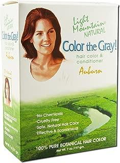 Light Mountain Color the Gray Auburn - 7 fl oz