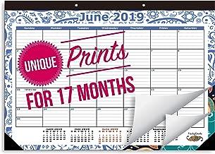 2019 Desk Calendar Runs from October 2018 Through December 2019, Desk Calendar is Medium Sized 16 3/4