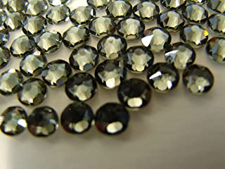 SWAROVSKI Rhinestones Flatback XILIUS Rose #2088 SS20 Foiled Back Black diamond (215) 144pcs