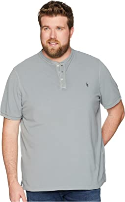 Big & Tall Featherweight Mesh Short Sleeve Knit