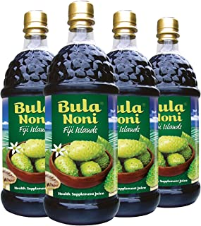 Bula Noni - 100% Certified Organic Noni (Morinda citrifolia) for Increased Energy & Body Health | No Additives, Vegetarian...