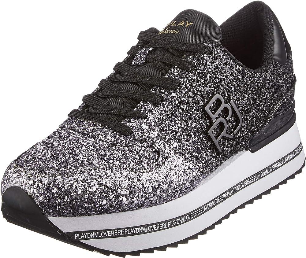 Replay informer, scarpe da ginnastica,sneakers per donna,in pelle sintetica GWS3D .000.C0004S