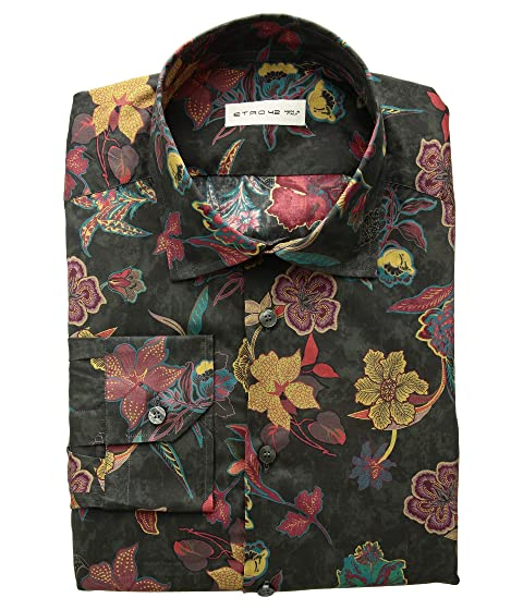 Etro Multi Floral Print Shirt
