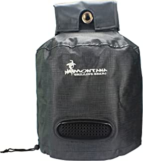 Montana Grilling Gear Ventilated Propane Tank Cover for 20lb Tank – Durable, Weatherproof, Water Resistant Material - 12.5