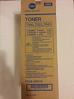 Brand New Genuine Konica 950414 Copier Toner (20000 Page Yield), Designed to Work for Konica Minolta 7033, Konica Minolta 7040, Konica Minolta 7045
