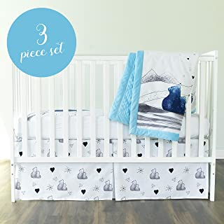 care bear crib set