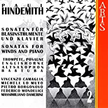 Paul Hindemith: Sonatas For Winds & Piano, Vol. 2