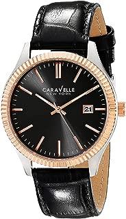 Caravelle New York Men's 45B131 Analog Display Analog Quartz Black Watch