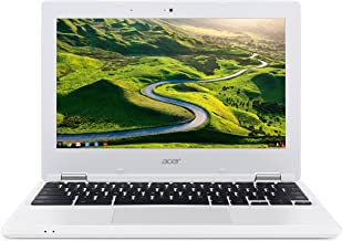 Acer Chromebook CB3-131-C3SZ 11.6-Inch Laptop (Intel Celeron N2840 Dual-Core Processor,2 GB RAM,16 GB Solid State Drive,Chrome), White(Renewed)