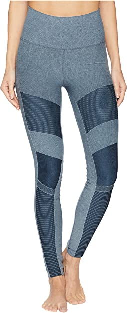 High-Waist Seamless Moto Leggings
