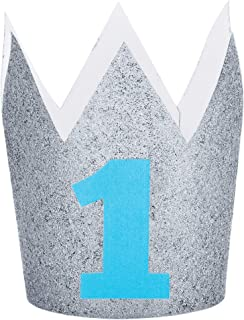 Creative Converting First Birthday Crown Party Supplies, One Size, Multicolour