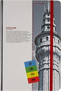 Scrikss İstanbul Kuleler Defter, Çizgisiz, A5, Beyazıt