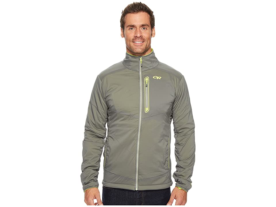 Outdoor Research Ascendant Jacket (Pewter/Lemongrass) Men