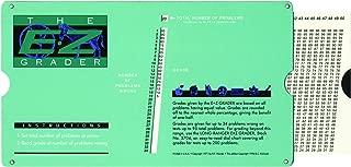 ADVANTUS E-Z Grader Chart, 8-1/2 x 4-3/4 x 1/8 Inches, Standard Size Print, Green (5703)