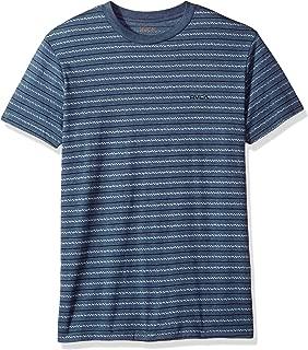 Men's Chev Stripe Vintage Dye Short Sleeve T-Shirt