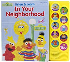Sesame Street - Listen & Learn In Your Neighborhood - PI Kids (Play-A-Sound Books)