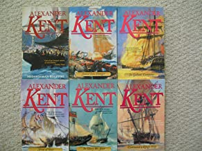 Richard Bolitho Novels Set 1-6 (Midshipman Bolitho ~ Stand Into Danger ~ In Gallant Company ~ Sloop of War ~ To Glory We S...