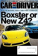 CAR AND DRIVER Magazine June 2019 PORSCHE BOXTER & BMW Z4 Cover