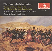 Steiner, M.: Treasure of Sierra Madre Suite (The) / the Charge of the Light Brigade Suite