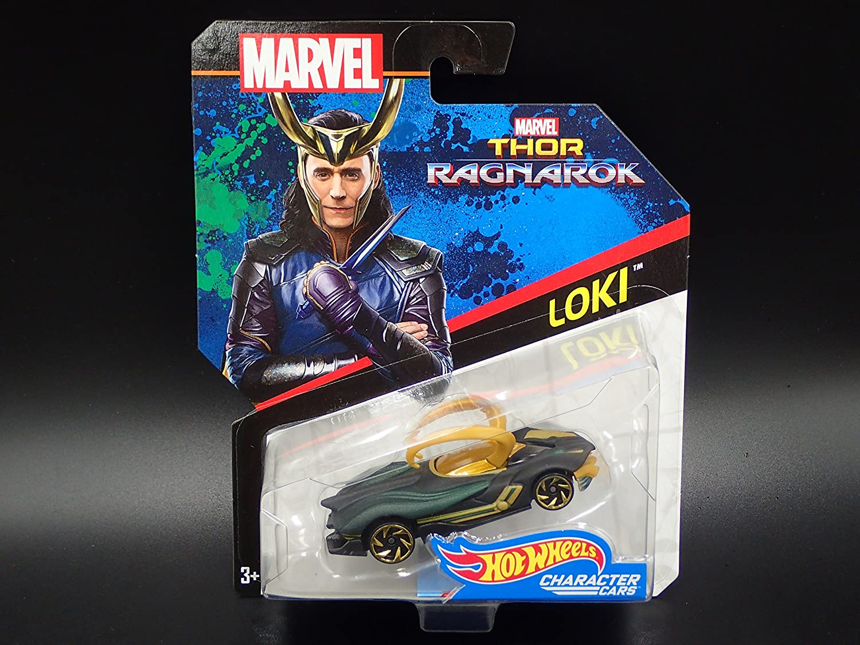 Hot High material Wheels Marvel Ranking TOP2 Character Car Die-Cast V Ragnarok Loki Thor: