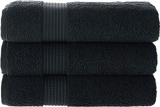 MAURA HOME Luksusowy zestaw ręczników kąpielowych 100% bawełna Jakość hotelowa i spa 3 duże ręczniki kąpielowe 70x140. Szy...