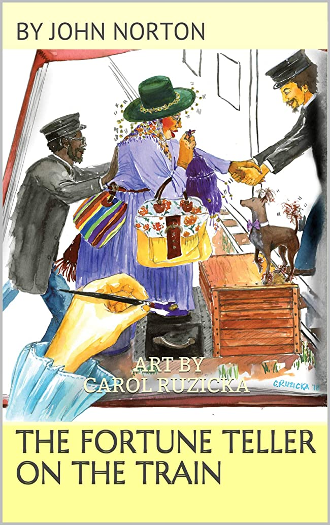 The Fortune Teller on the Train: Prequel to The Adventures of Eva and Buckskin Charlie (English Edition)