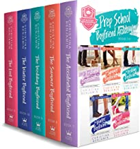 Prep School Boyfriend Academy Box Set (Books 7-11): A Stand Alone High School Romance Collection