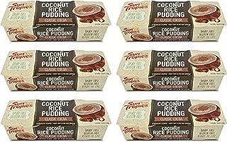 Sun Tropics Coconut Rice Pudding Snack, Classic Cocoa, 12 Count 4.23 oz Cups, Gluten Free, Dairy Free, Vegan, Low Sugar, Non-GMO, Ready-to-Eat