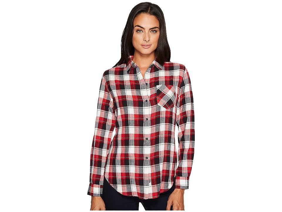 Woolrich Kanan Eco Rich Lightweight Shirt (Old Red) Women