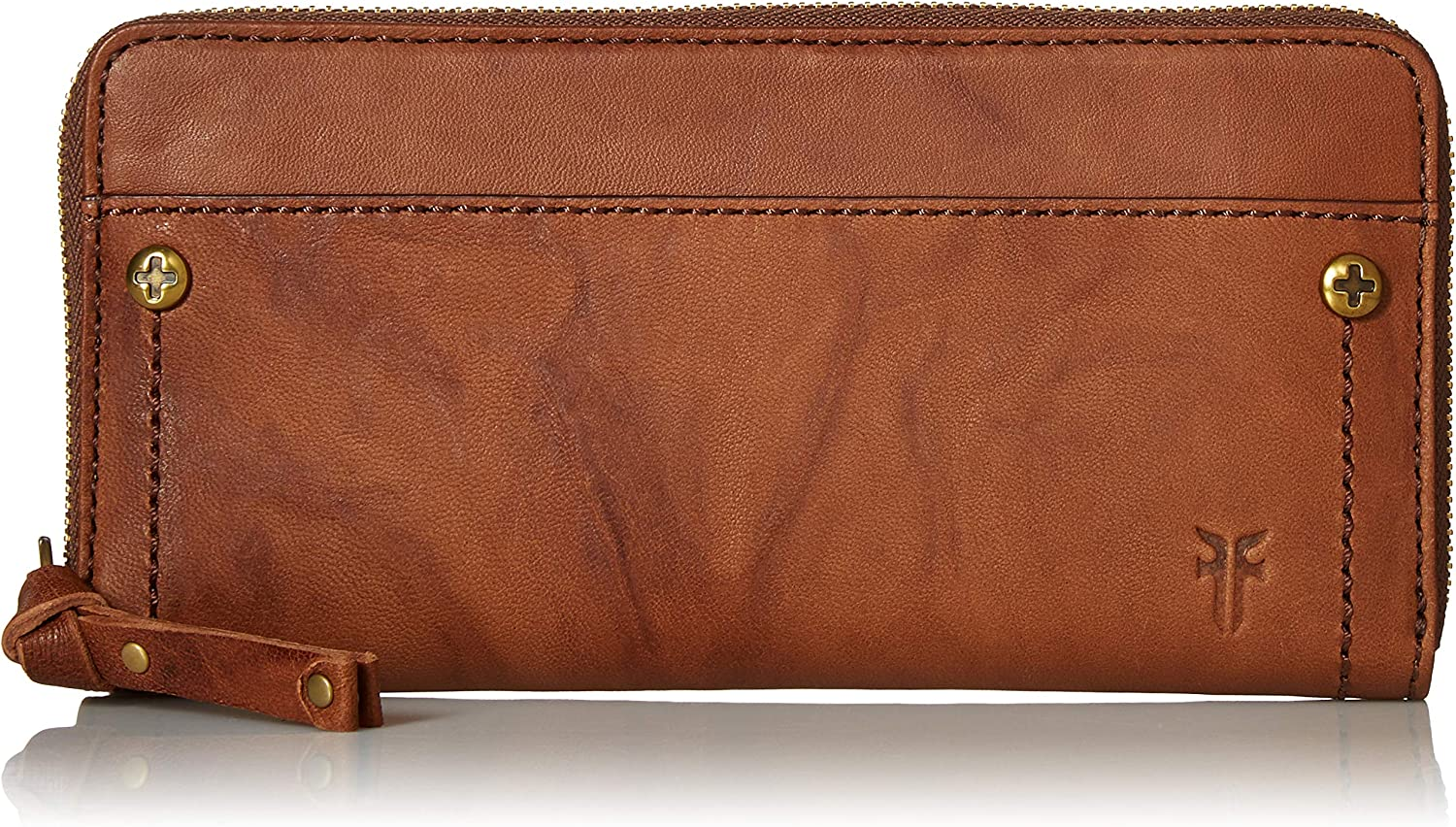 FRYE Demi Zip Around Leather Wallet