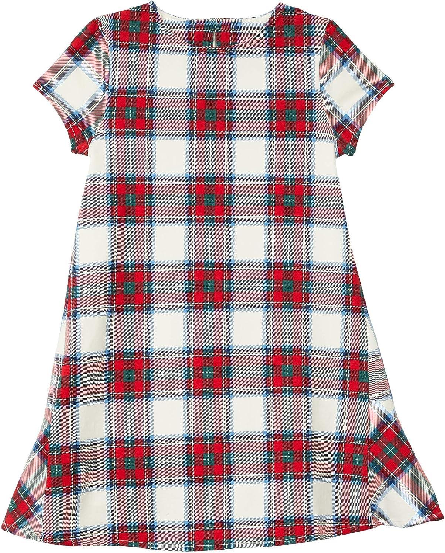 Vineyard Vines Girl's Nantucket Tartan Knit Dress (Toddler/Little Kids/Big Kids)