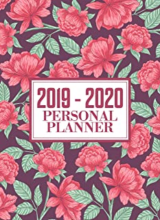 Personal Planner 2019 -2020: Weekly and Monthly Planner - To Do List, Appointment Note Book, Financial Planner