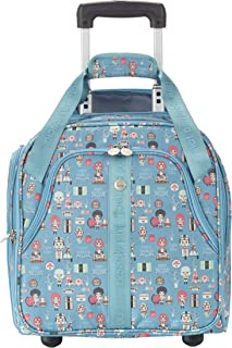 Colourful Suitcase Lil'Ledy: Soft Shell Hard Shell Backpack Children's Trolley Handbag