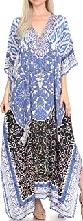 plus size beach kaftan