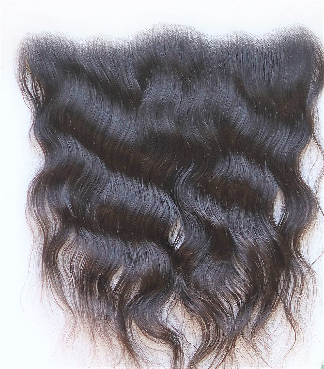 """13X4 Frontal 18"""" wavy transparent lace natural with 4 years warranty Challenge the lowest price of Japan ☆ 100% made In"""