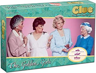 Clue The Golden Girls Board Game | Golden Girls TV Show Themed Game | Solve The Mystery of Who Ate The Lastpiece Of Cheesecake |Officially Licensed Golden Girls Merchandise | Themed Clue Mystery Game