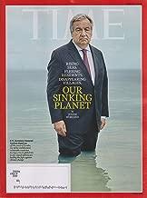 Time June 24, 2019 Our Sinking Planet - US Secretary General Antonio Guterres