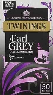 Twinings Earl Grey 50 Teebeutel 125g - Schwarztee mit Bergamotte