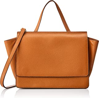 Oroton Women's Avalon Satchel, Cognac, One Size
