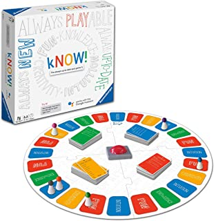 Ravensburger kNOW! Interactive Quiz Game Powered by Google Assistant for Adults and Kids Age 10 Years and Up - English Edi...
