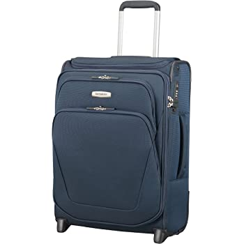 SAMSONITE Spark SNG - Upright 55/20 Expendable with SmartTop Hand Luggage, 55 cm, 48,5 liters, Blue