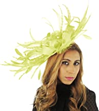 Hats By Cressida Stunning Large Paparazzi Feathers Ascot Derby Fascinator Hat - with Headband