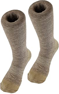 Sponsored Ad - COPPER SOLE Merino Wool Blend Boot Socks Men's 10-13