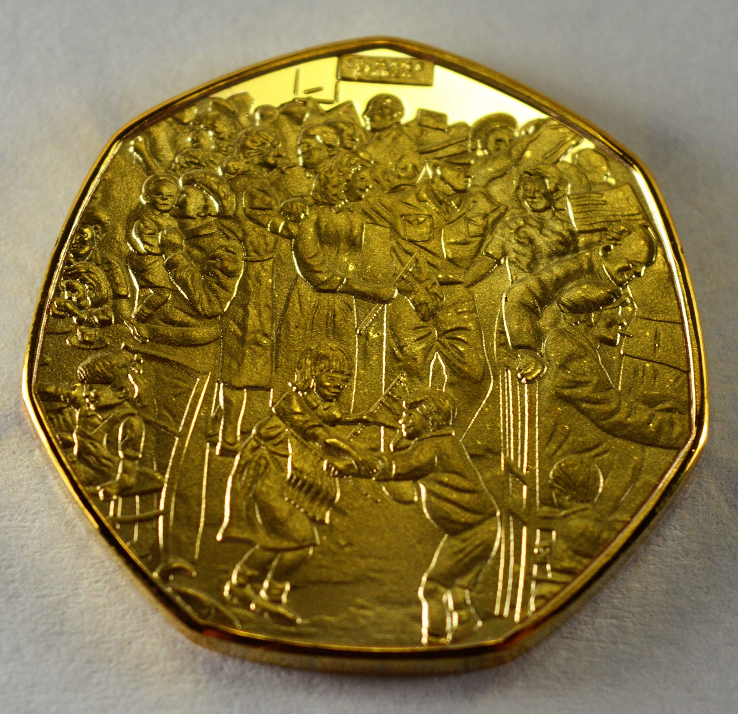 Victory in Europe VE Day 1945 Winston Churchill - Álbumes de Monedas conmemorativos de Oro de 24 Quilates, 50 Piezas coleccionistas: Amazon.es: Hogar