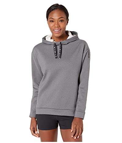 Nike Therma All Time Ribbon Drawcord Pullover Hoodie (Black/Heather/Black) Women
