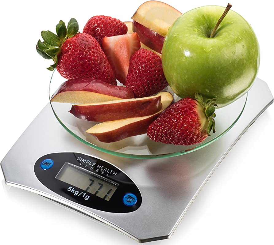 Food Scale Food Scale 1 Pack Silver