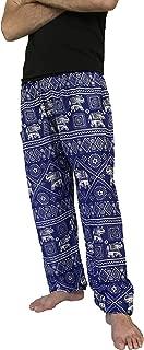 Love Quality Men's Baggy Printed Harem Pants Free Size